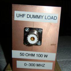 50 Ohm Dummy Load